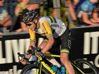 COMEBACK: Jesse Kerrison hit the deck before recovering to win the Australian Open Criterium.