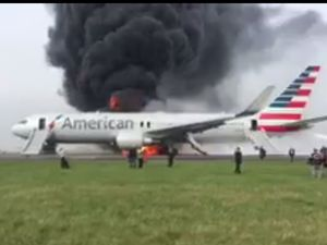 WATCH: Two planes catch on fire in the U.S