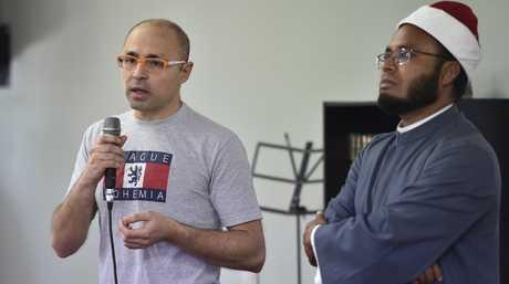 Mahmoud el Bably (left) and Imam Abdul Kadir