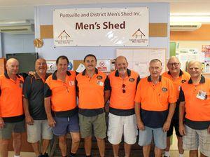 Pottsville Men's shed put on hold