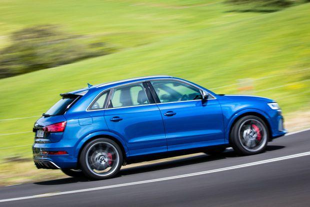 2016 Audi RS Q3 Performance.Photo: Mark Bramley