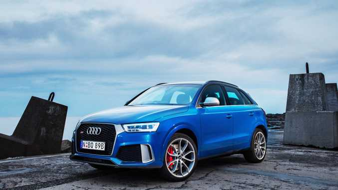 STIRRING SUV: Don't let the cutesy exterior fool you, Audi's RS baby SUV packs a magnificent turbocharged wallop.
