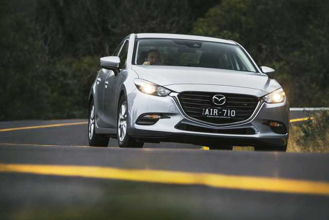 REASSURINGLY GOOD: The Mazda3 is a perennial best seller in Australia, and proves why as a superb all-rounder mixing quality, style and value.