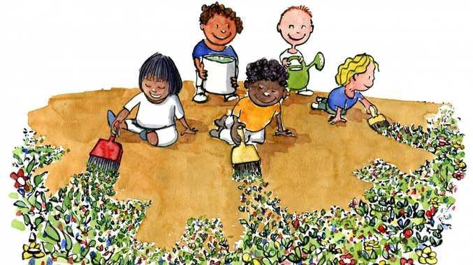 kids-painting-green-growth-plants-freefrits-ahlefeldt