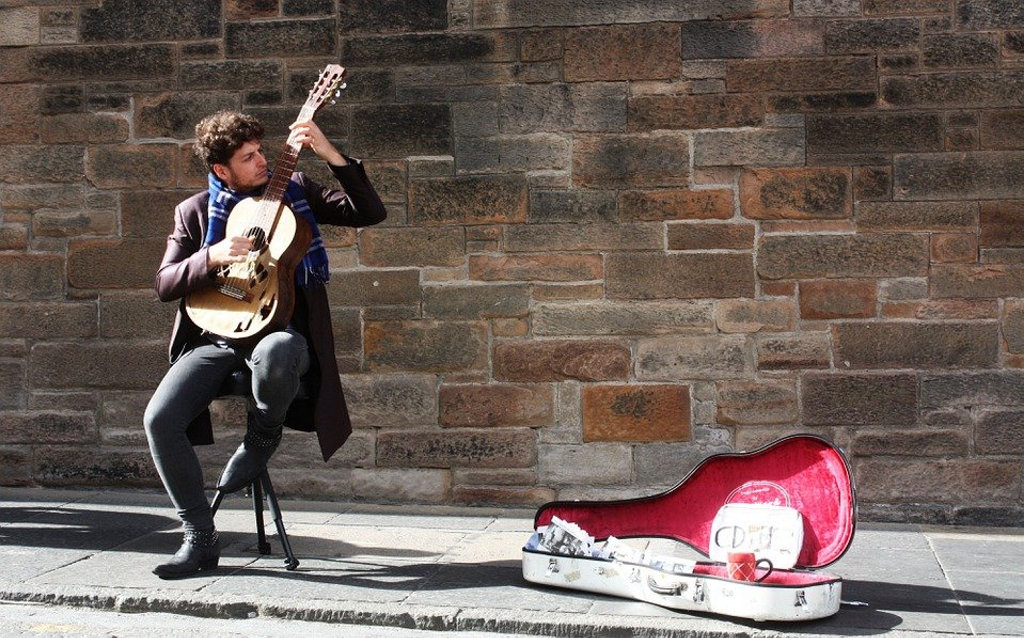 Lismore council is cracking down on buskers. Photo by Gavin Whitner.