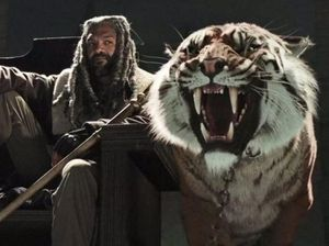 Now there's not just zombies and Negan - there's a tiger