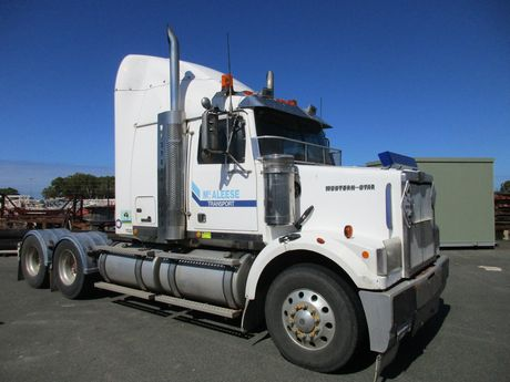 Failed transport company McAleese has put truck loads of assets up for auction.
