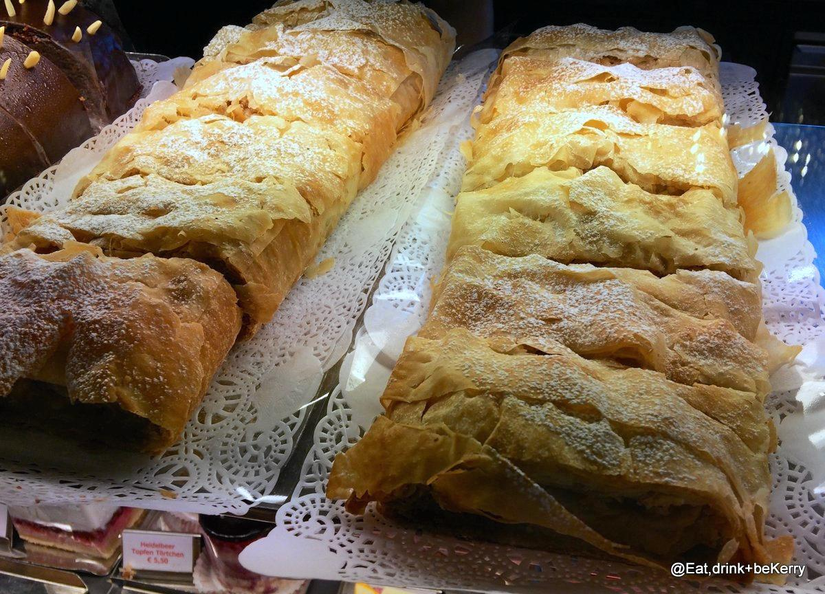 The apple strudel is a must-try.