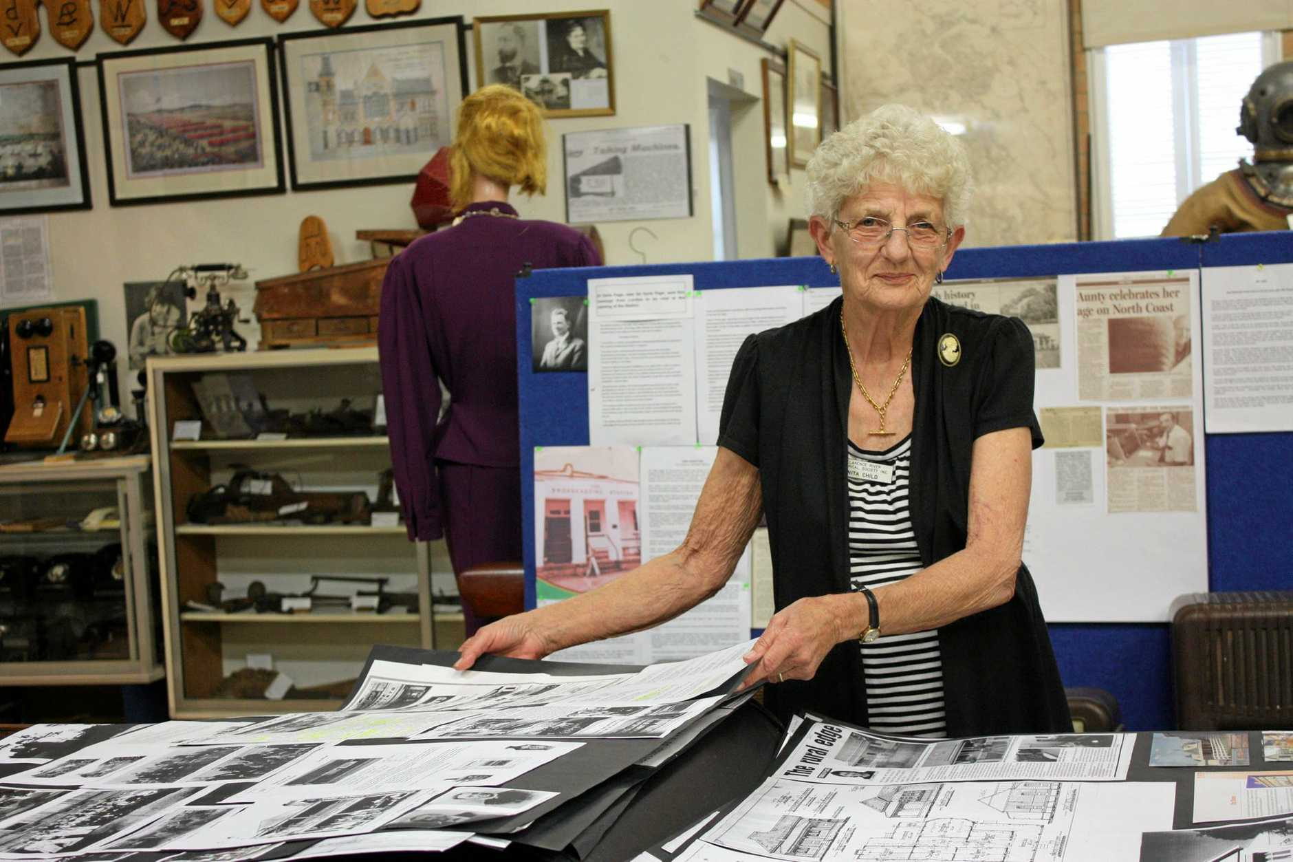 DETAILED RESEARCH: Nita Child spent months delving into archives to find the history of several generations of Schaeffer family
