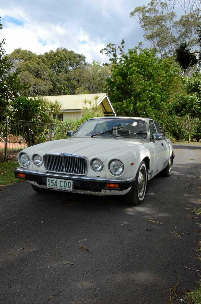 RETURNED: Sam Bjelke-Petersen has bought Sir Joh's former government car.