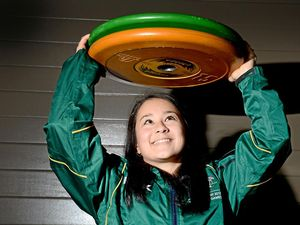 Erika's golden lift eases Olympic pain