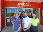 The IGA Iluka team: Back row (from left), Karen Collett (Deli Manager), Kacee Haydon (Liquor Manager), Jo Kempshall (Supervisor), Deb Pyne (Perishables Manager); front row, Leanne Roberts (Produce Manager), Cole Anderson (Store Manager), Jack Shaw (Storeman).