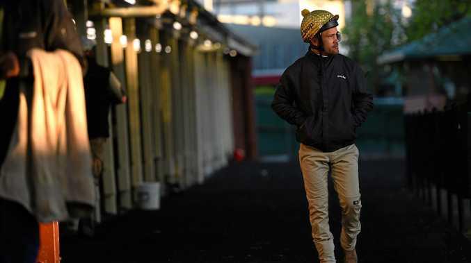Michael Walker at Moonee Valley Racecourse in Melbourne.