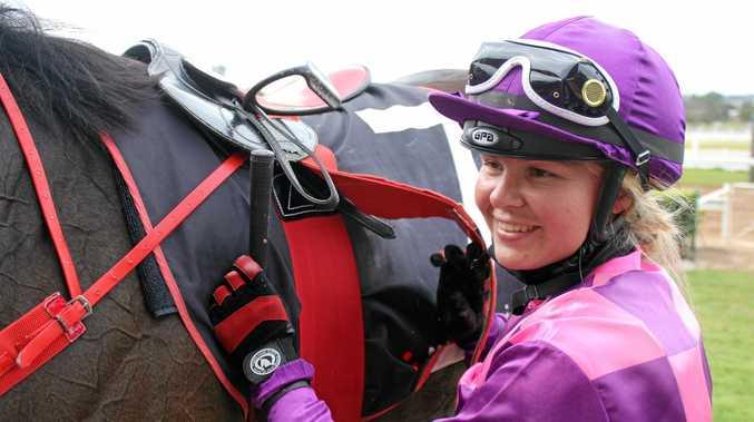 ON COURSE: Jockey Alisha Taylor will be looking to reproduce the winning form she enjoyed at Yeppoon on Saturday.