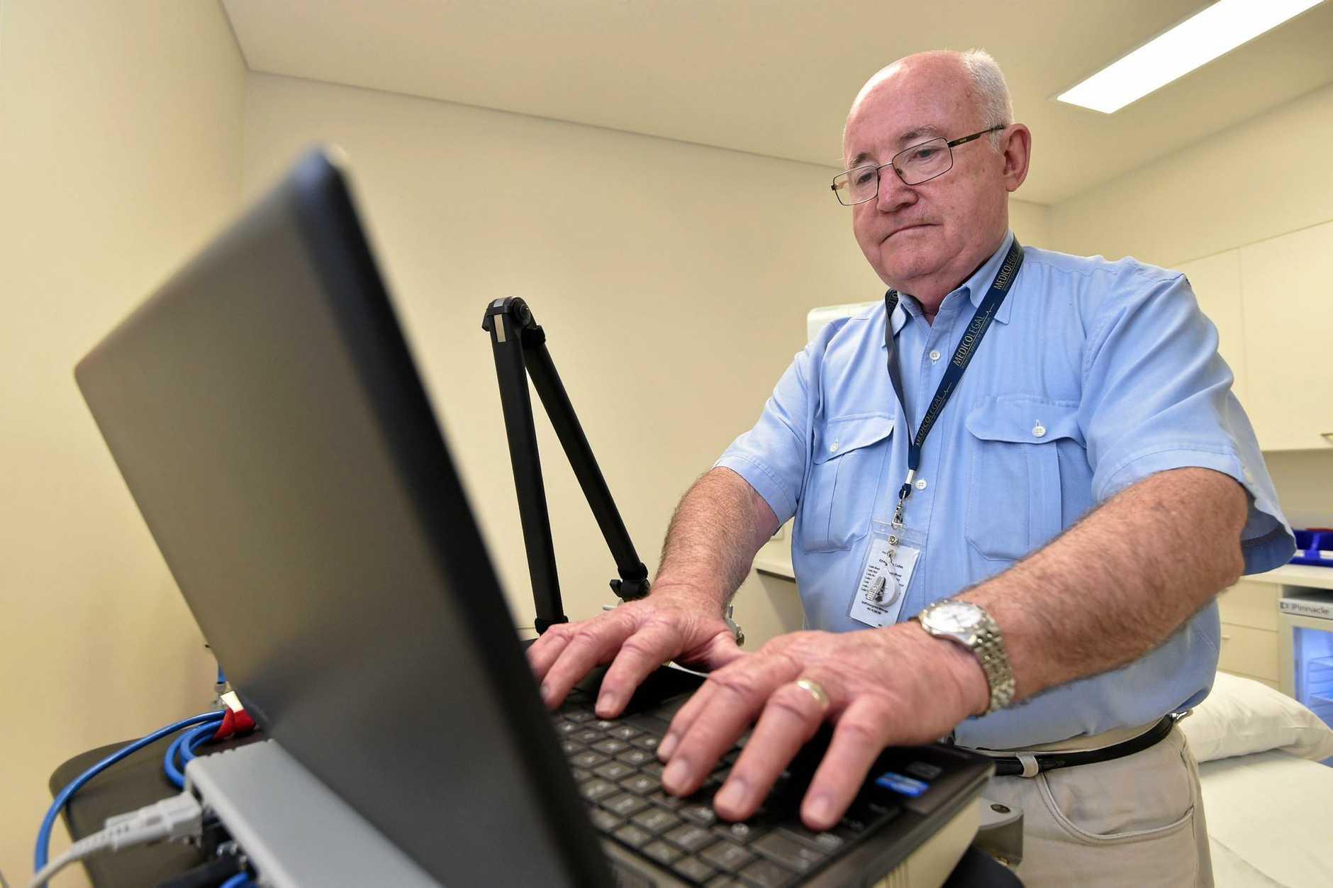 Neurologist - Dr. Geoffrey Boyce at St. Stephen's Hospital.