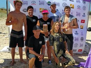 Boardriders making waves