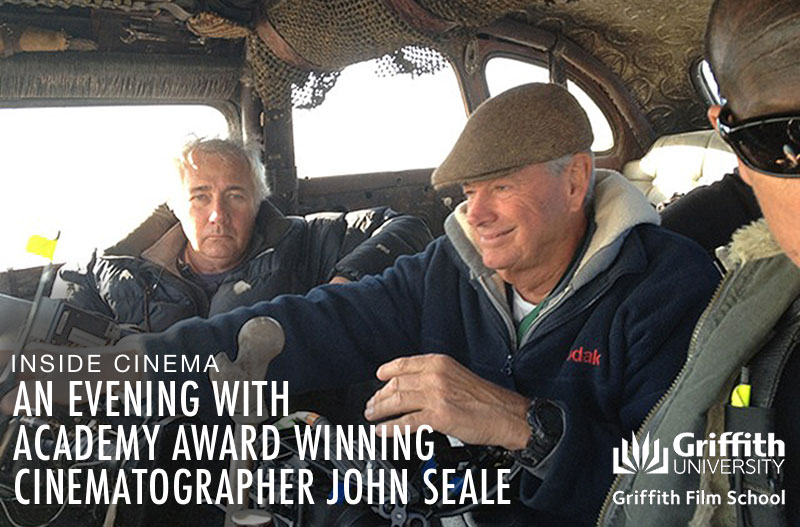 An Evening with John Seale during the Noosa International Film Festival.