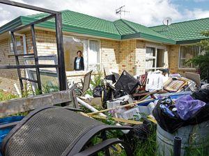 Couple heartbroken after rental home trashed