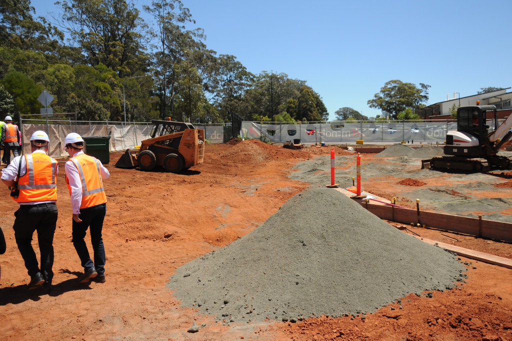 The latest on the $10 million redevelopment at Highfields State Secondary College.