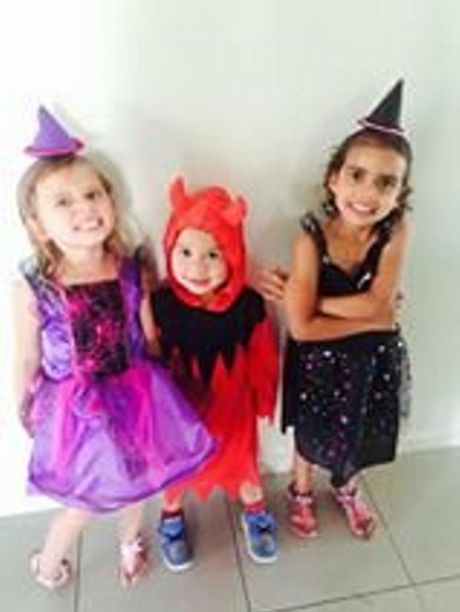 Residents celebrate Halloween in Toowoomba.