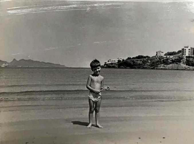 Photos believed to be keepsakes from a family holiday in 1964 were found in a Sunshine Coast op shop.