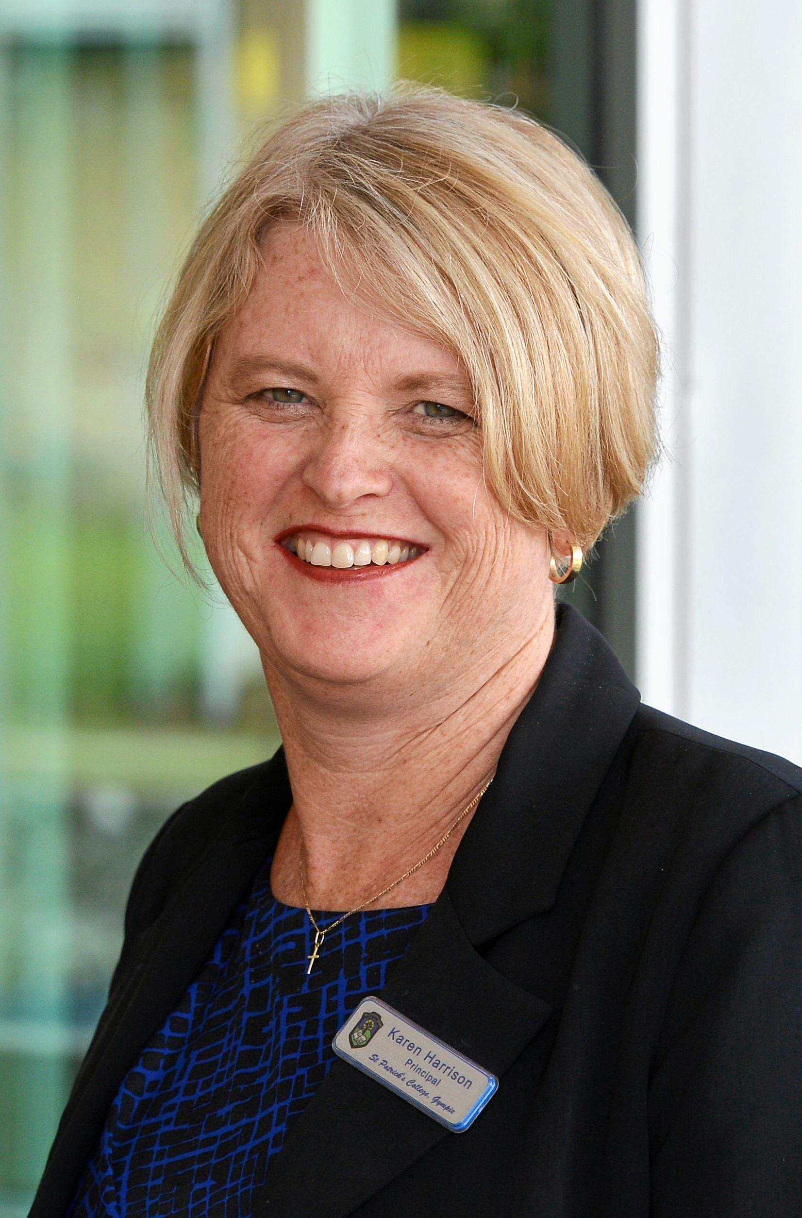 My tip is - Jameka, with a rough outsider - Exospheric. - St Patrick's College principal Karen Harrison