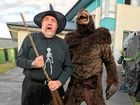 Halloween zombies rule Ipswich for a night