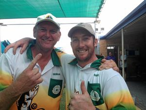 Proserpine pair's triumph highlight of bowls year
