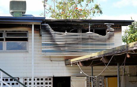 House fire in Malcomson St, Mackay