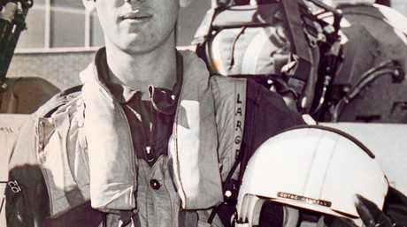 Captain Peter Campbell on his graduation day from the RAAF on July 7, 1977.