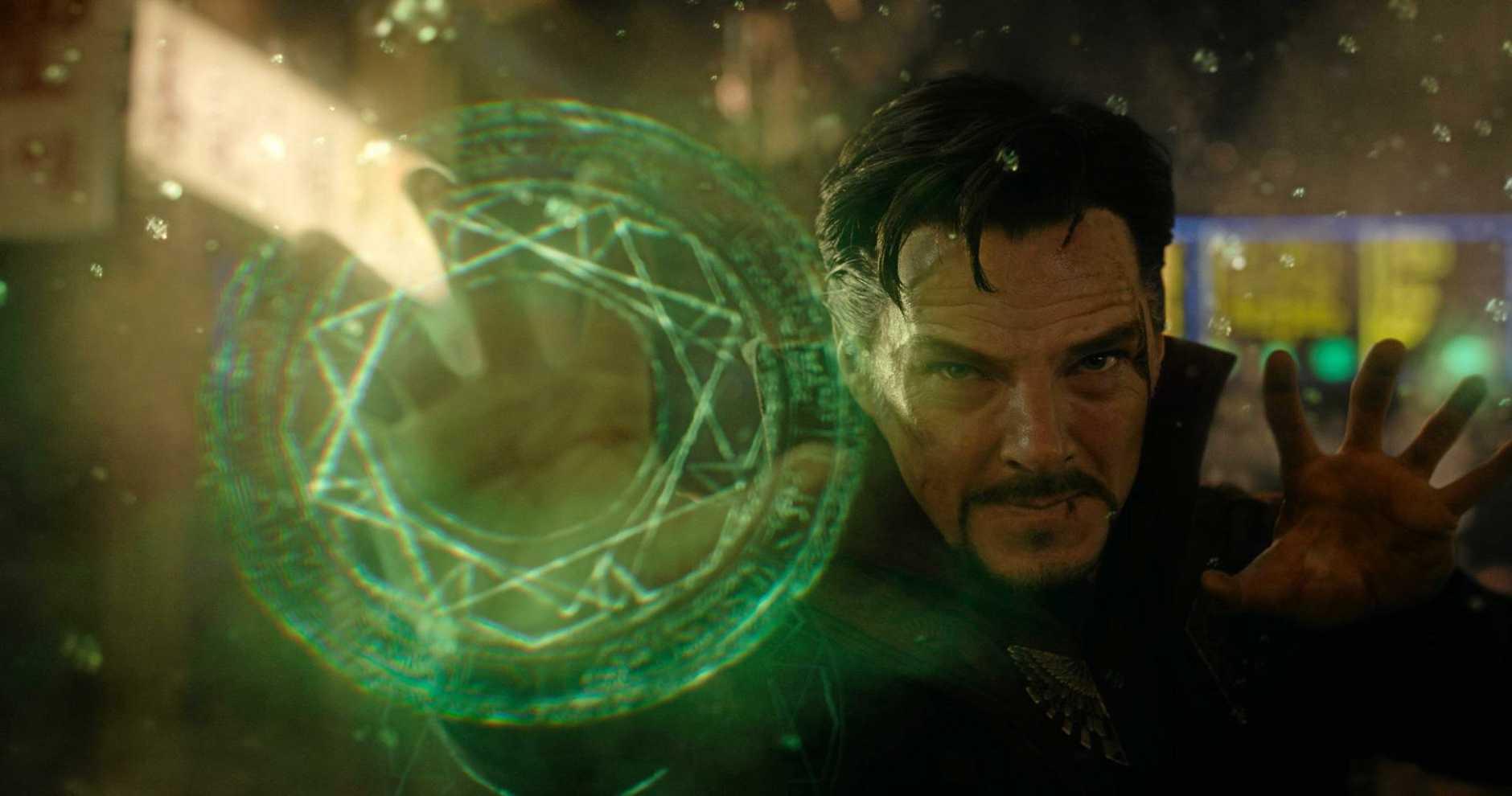 Benedict Cumberbatch in Marvel's Doctor Strange.