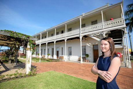 DENISON BOUTIQUE HOTEL manager Samantha Cook. Photo Allan Reinikka / The Morning Bulletin