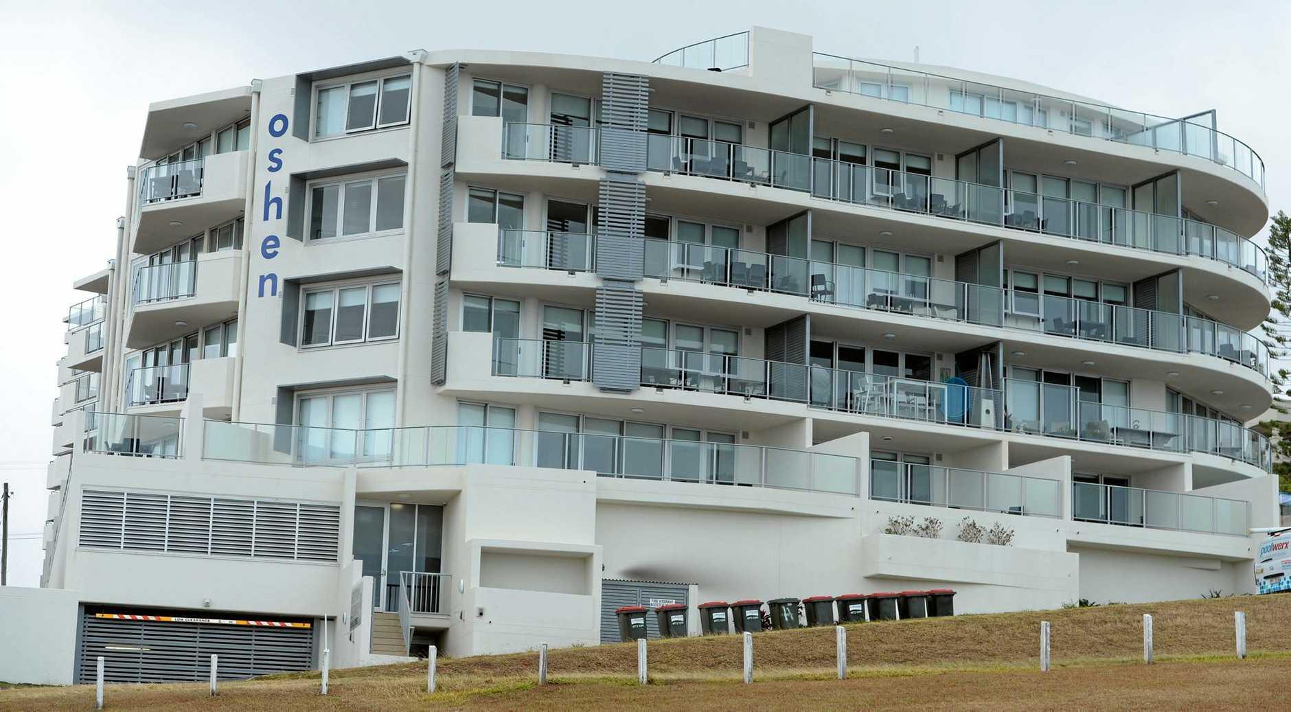 Oshen Apartments Yeppoon.   Photo: Chris Ison / The Morning Bulletin