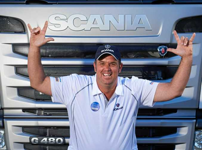 Glenn Yogi Kendall this year's Scania Driver of the Year!