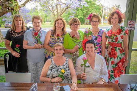 The ladies from Grafton Aqua Aerobics at the Village Green.