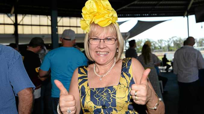 WINNING BET: Kym Treacy backed Almandin for a win in the Melbourne Cup yesterday.