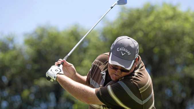 CUP CALLING: Grafton golfer Mat Worthing has battled injury to be back for Jacaranda Open.