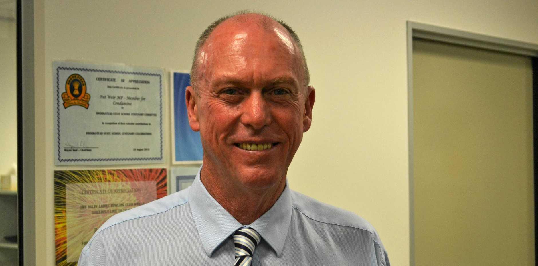 Condamine MP Pat Weir.