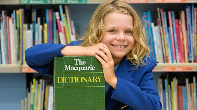 River Robinson, 9 of Yamba Public School is off to the state finals of the Premier's Spelling Bee.