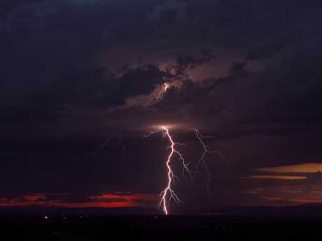 Drew Chapman, program director at River 94.9 took this stunning shot of a storm in the Lockyer Valley in late October.