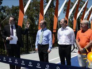 New Aura Boulevard Bridge.