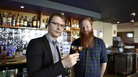 The Mort Estate Hotel co-owners, Simon Janetzki (left) and Liam Janetzki.