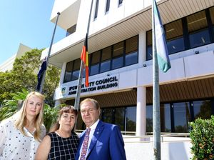 Council lowers flags as mark of respect