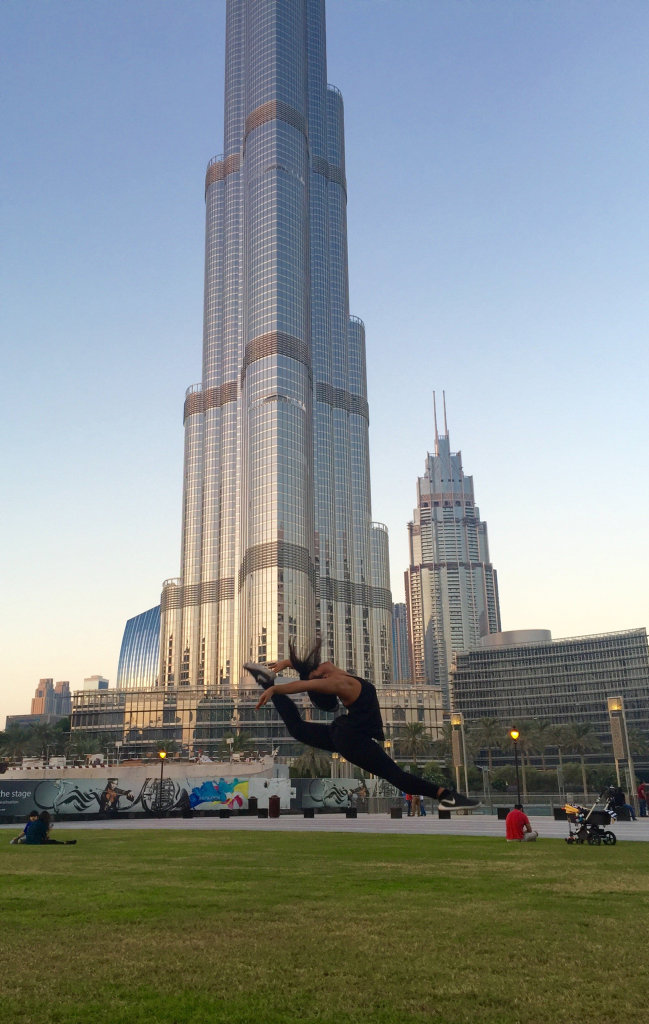 Jeanette Jordan is leaping for her dancing dreams in Dubai.