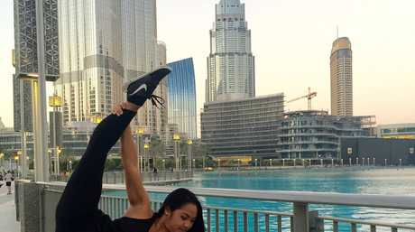 Jeanette Jordan has been in Dubai since July, rehearsing for the upcoming show.