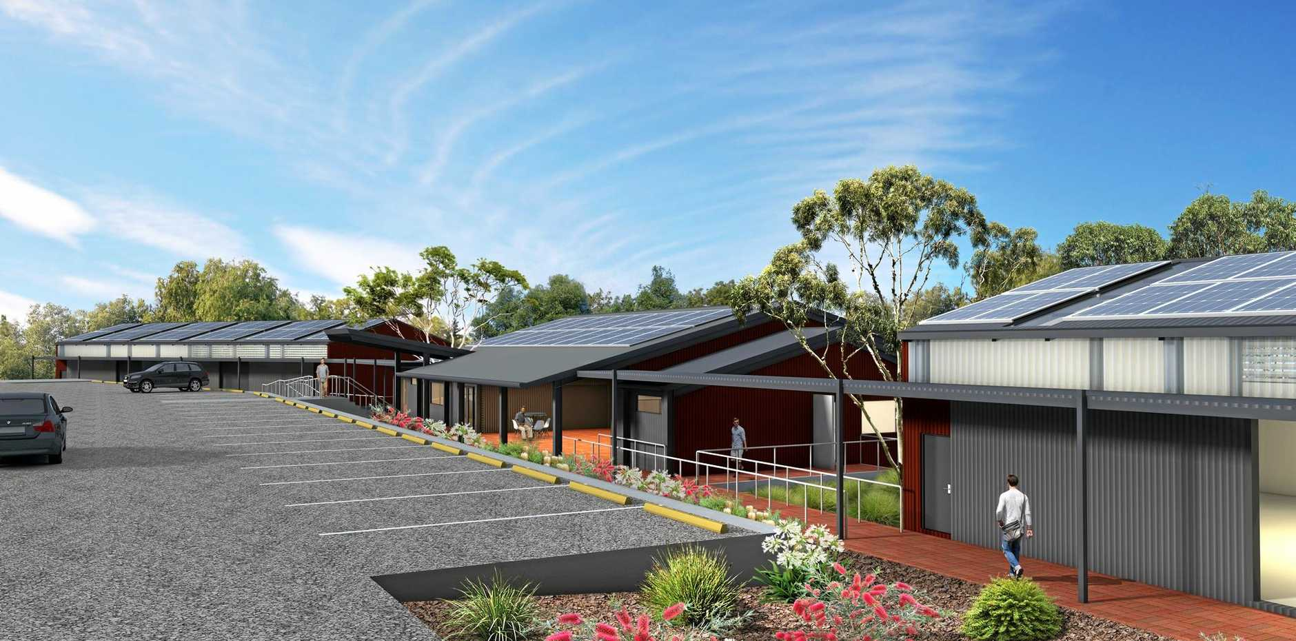 ARTIST'S IMPRESSION: A 3D render of the proposed new Men's Shed at Buderim.
