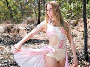 Young talent: Dancer bursts onto the Sydney scene
