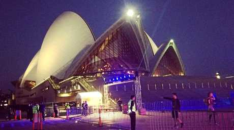 Sydney Opera House by night. NSW, generic, New South Wales, tourism.