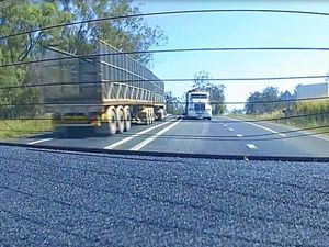 Dash Cam: near miss on the Bruce Highway