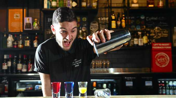 New liquor and lockout laws came into affect in July meaning bars have to stop serving shots after midnight.